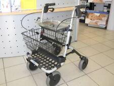 Rollator Aquatec Invacare P452E/3 BANJO pannensichere Bereifung + Korb + Tablett