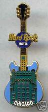 Hard Rock Hote CHICAGO Facade Series. Guitar Pin. RARE