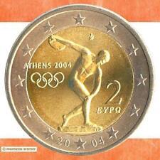 Sondermünzen Griechenland: 2 Euro Münze 2004 Olympia Athen zwei € Sondermünze