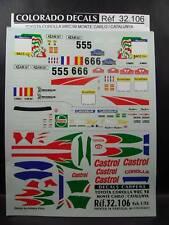 DECALS 1/32 TOYOTA COROLLA WRC MONTE CARLO / CATALOGNE 1998 - CARPENA  32106