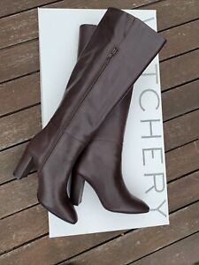 Witchery Leather Boots - Size 38