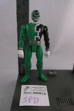 Mighty Morphin 'Figura Suelta De Power Rangers-Ranger SPD-Verde