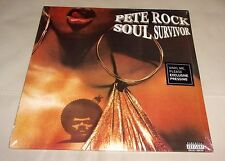Pete Rock Soul Survivor Sealed 2 LP Red Black Split Colored Vinyl w/ Bonus 7""