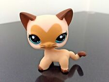 Littlest Pet Shop Cat #3573 LPS Tan / Brown Heart Face Short Hair USA SELLER