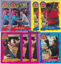 (8)1992-93 SKYBOX: DAVID ROBINSON INSERT LOT - SAN ANTONIO SPURS NBA GREATEST 50