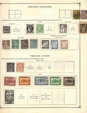 Kenr2: French Col-Fr Guinea Collection from 1840-1940 Scott Intern Bound Album