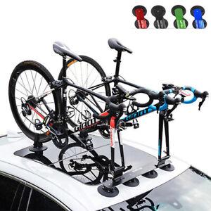 ROCKBROS Dachgepäckträger Saugnapf Fahrrad Dachträger für 1/2/3 Fahrräder Neu