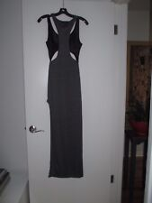 NWT- HOT! Cutout Body Con Party Dress High Side Slit show Lots of leg! - Size M
