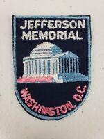 Vintage Voyager Jefferson Memorial Washington D.C. DC Patch Tourist Souvenir
