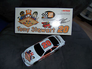 2000 Action TONY STEWART 1/24 Home Depot KIDS WORKSHOP BANK