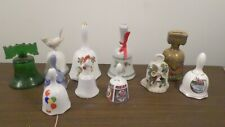 Assorted Vintage Lot of Rooster, Souvenir, Bird, Floral, Balloon Bells