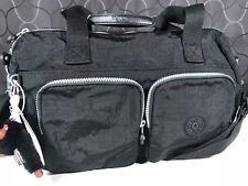 Kipling Cyrene Black Nylon Travel Shoulder CrossBody Bag