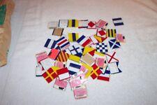 54 Hard Plastic Sailing Boating Alphabet Tiles Nwt