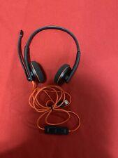 Plantronics C3220 209745-01 Blackwire Microsoft Lync USB Stereo Binaural Headset