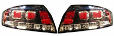For Audi Tt 00-06 Red Black Smoke LED Back Rear Tail Lights Lamp Indicator Set