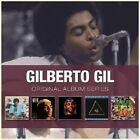 GILBERTO GIL - ORIGINAL ALBUM SERIES 5 CD LATIN POP NEU