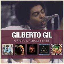 Gilberto Gil-ORIGINAL ALBUM SERIES 5 cd Latin Pop Nuovo