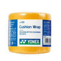 YONEX Cushion Wrap Racquet Grip Tennis Badminton Racket Tape Yellow 1PC AC380