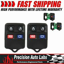 2X Keyless Entry Remote Control Car Fob Replacement For Ford F150 F250 F350 F450