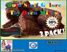 Easy Bake Oven Refill 3 Pack | Sugar Cookies Brownies Cake
