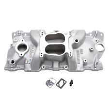 Edelbrock Performer Intake Manifold 2101 Chevy SBC 283 327 350 For Stock Heads