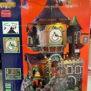 Spooky Town Lemax 2021 - The Witching Hour Collectible.  NIB, never opened.