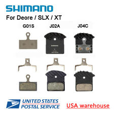 Shimano G01S J02A J03A J04C MTB Bike Disc Brake Pads Resin Metal Cooling Fins OE