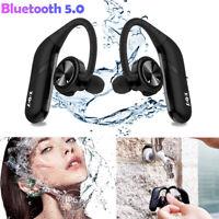 Bluetooth V5.0 Kopfhörer Kabellos Sport Stereo Headset Ohrbügel In Ear Kopfhrer