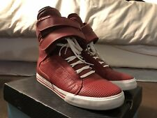 Supra TK Society Red Perf Terry Kennedy US Mens 10.5