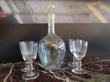carafe cristal verres art-déco art nouveau vintage CERAMIC by PN