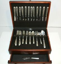 Towle Sterling Flatware Candlelight 12 Settings Serving Pieces Vintage Chest