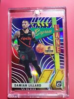 Damian Lillard 2019-20 Panini Donruss Optic Express Lane Purple #3 Trail Blazers