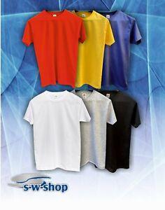 T-Shirt Fruit of the Loom Herren Original T Baumwolle Herren S M L XL XXL