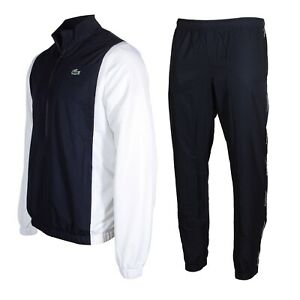 Lacoste SPORT Men's Colorblock Tracksuit in Blue and White WH6949-51 HK9