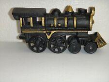 New listing Silverton Co Gold Mine Black Cast-Iron Train Steam Locomotive Engine Souvenir