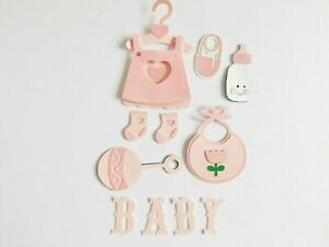 Newborn Baby Papercraft Embellishments Babies Scrapbooking Card Making Crafts
