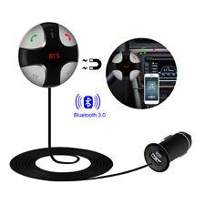 Bluetooth 3.0 Auto MP3 FM Transmitter Freisprechanlage USB Ladegerät SD KFZ