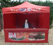 More details for gazebo kiosk market stall outdoor mobile catering fast food catering trailer