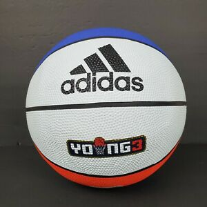 ADIDAS YOUNG3 OFFICIAL BASKETBALL EH4684 ICE CUBE BIG3 SZ: 7