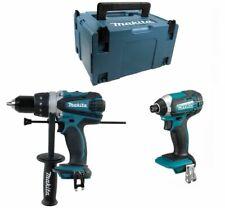 Makita 18V DHP458Z Combi Hammer + DTD152Z Impact Driver + 821551-8 Makpak Case