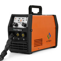 HITBOX 220V MIG Welder LIFT TIG ARC MMA Flux Core Wire Gasless/NoGas MIG Welding
