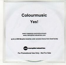 (EN450) ColourMusic, Yes! - 2009 DJ CD