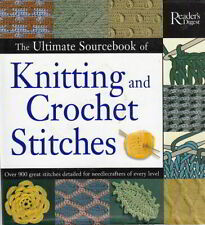 Breiboek Engels talig The Ultimate Sourcebook of Knitting and Crochet Stitches