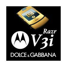 Phone Mobile Phone Motorola V3i Gsm Gold D&g Dolce & Gabbana Gold Top Quality