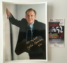 John Spencer Signed Autographed 8x10 Photo JSA Certified West Wing