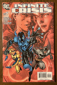 INFINITE CRISIS # 5, First 1st Appearance Jaime Reyes as Blue Beetle DC NM PICS