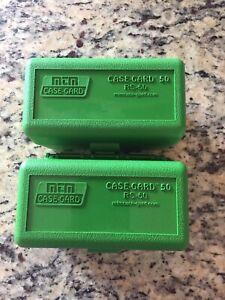 223 / 5.56 MTM Ammo Box Green 50 Round (Quantity 2)