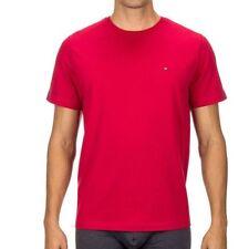 Ropa de hombre Tommy Hilfiger de color principal rojo 100% algodón