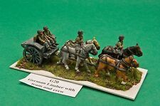 SGTS MESS G20 1/72 Diecast WWII German Limber, Horses, Riders, and Driver