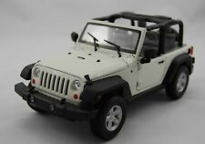 WELLY 2007 JEEP WRANGLER WHITE 1:24
